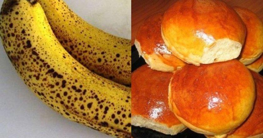Бананові булочки подивитися рецепт