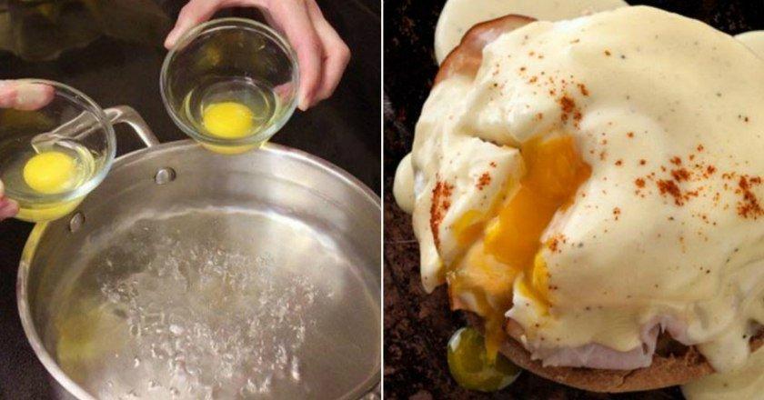 Яйця Бенедикт подивитися рецепт