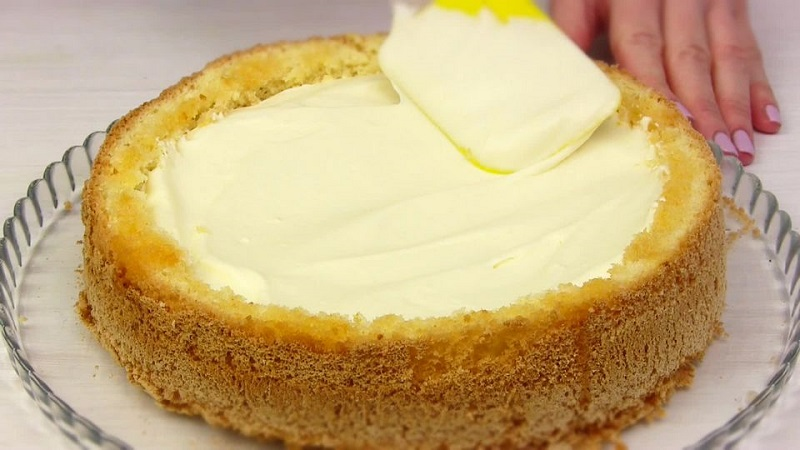 Торт «Кульбаба»