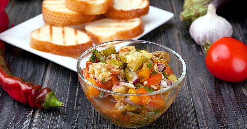 Як приготувати овочеву ікру подивитися рецепт