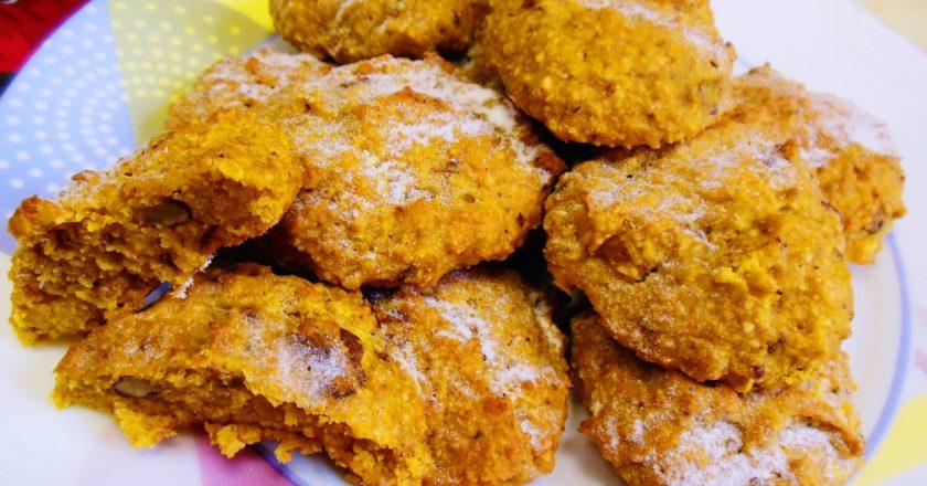 Вівсяне печиво з гарбузом подивитися рецепт