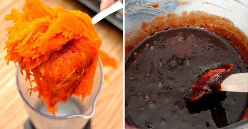 Гарбузово-шоколадні кекси подивитися рецепт