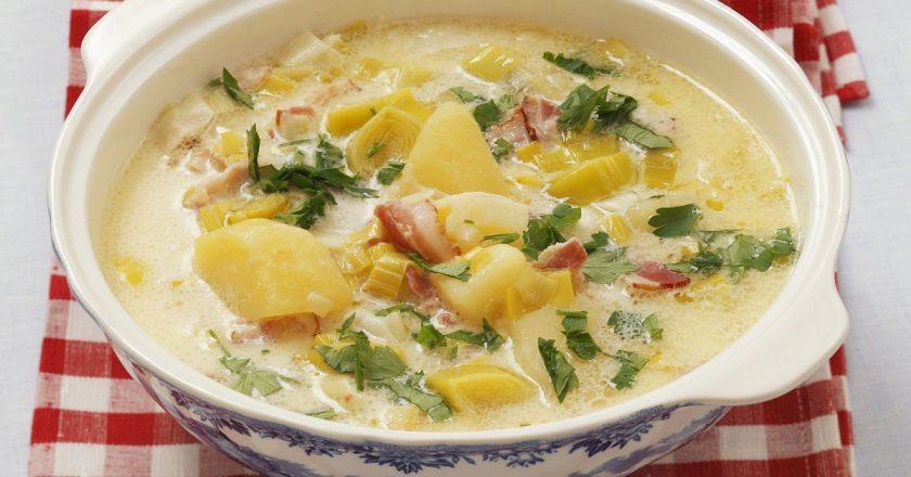 Італійський вершковий суп подивитися рецепт