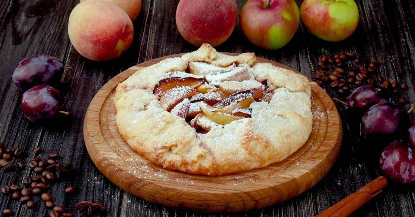 Як приготувати галету з фруктами подивитися рецепт