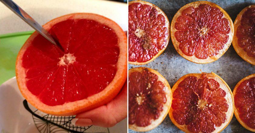 Запечений грейпфрут подивитися рецепт