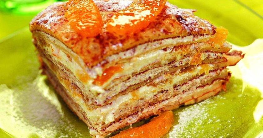 Торт з апельсинами подивитися рецепт