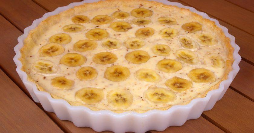 Сирна запіканка з банановим пюре як приготувати, покрокові рецепти від «Це Смак»