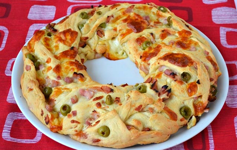 Пиріг «Вінок Анжеліки»