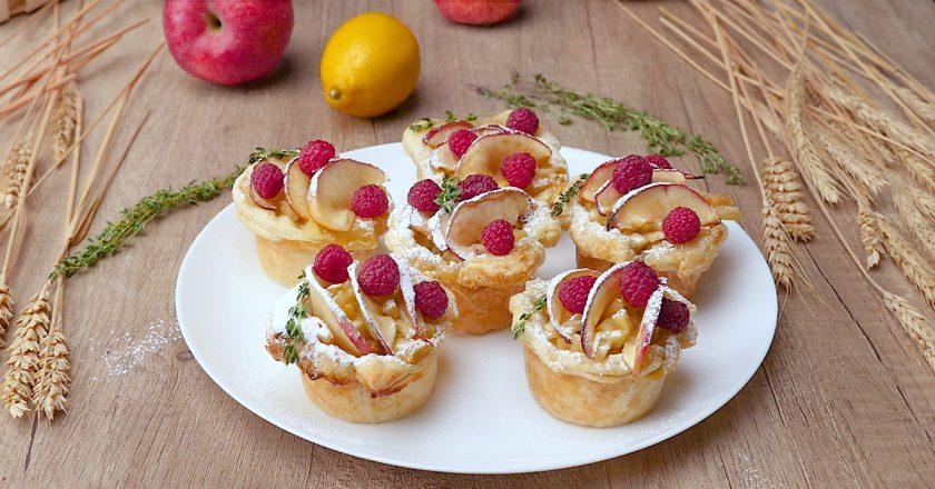 Як приготувати кошики з яблуками подивитися рецепт