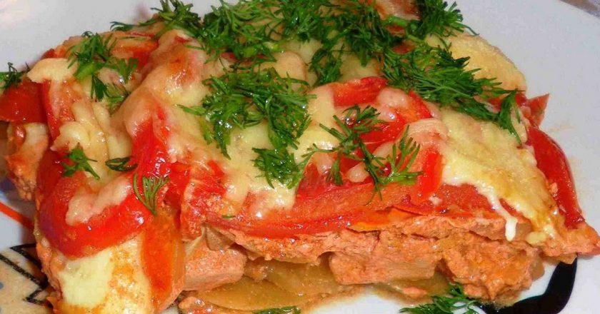 М'ясо по-французьки з картоплею подивитися рецепт
