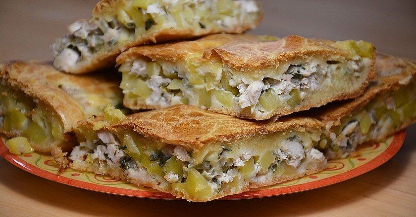 Курячий пиріг в духовці як приготувати, покрокові рецепти від «Це Смак»