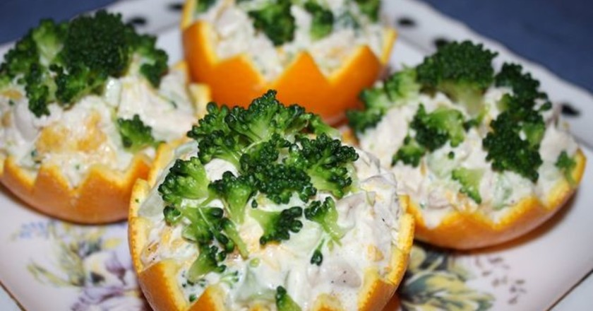 Італійський салат «Зимовий сон» подивитися рецепт