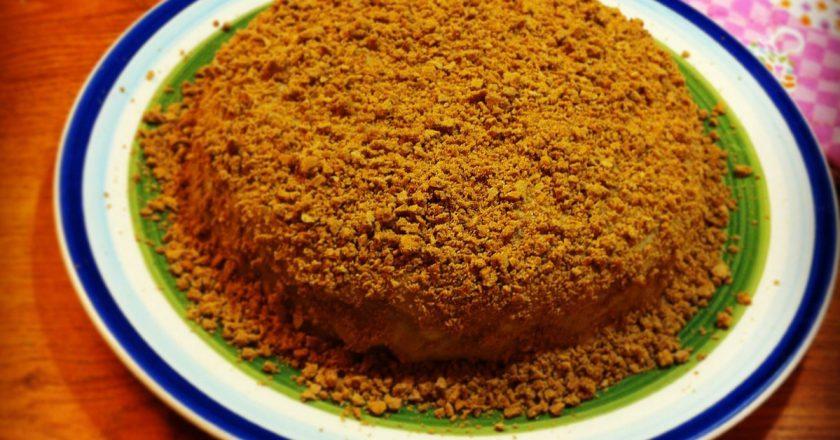 Торт «Рижик» подивитися рецепт