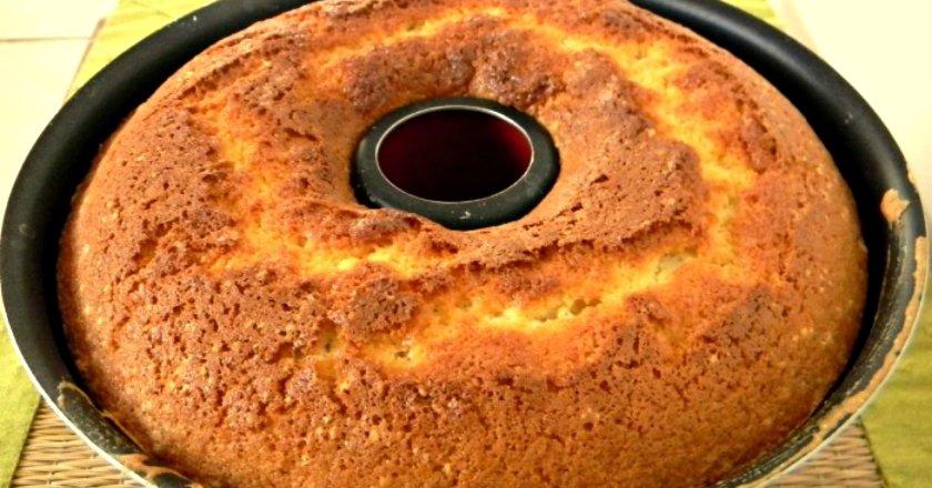 Кекс з варенням подивитися рецепт