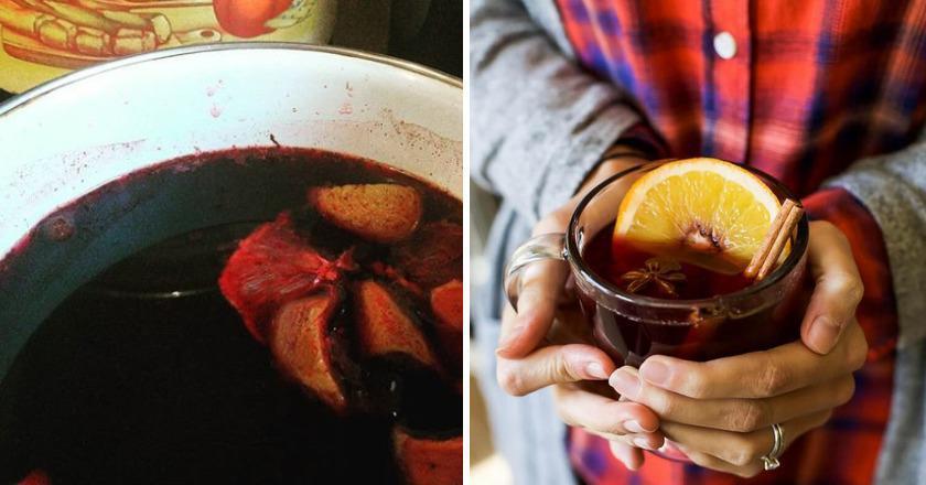 Зігріваючий напій подивитися рецепт