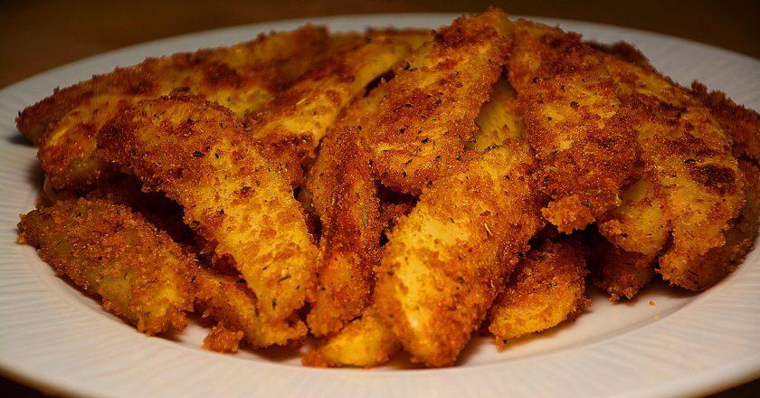 Картопляні часточки до пива подивитися рецепт