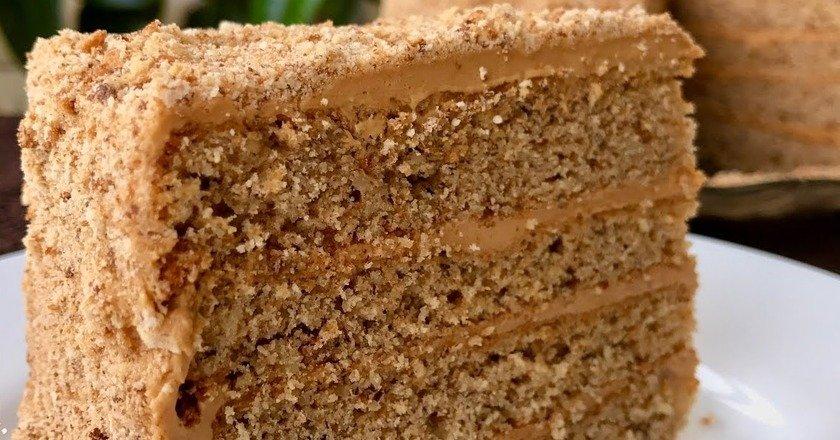 Торт «Грецький горіх» подивитися рецепт