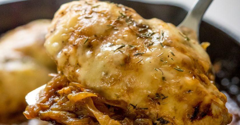 Куряча грудка з цибулею як приготувати, покрокові рецепти від «Це Смак»