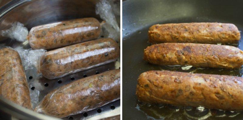 Вегетаріанські сосиски подивитися рецепт