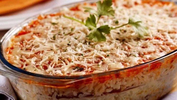Лазанья з рисом
