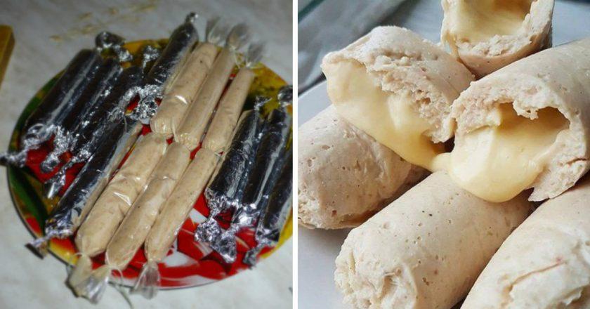 Сосиски з сиром як приготувати, покрокові рецепти від «Це Смак»
