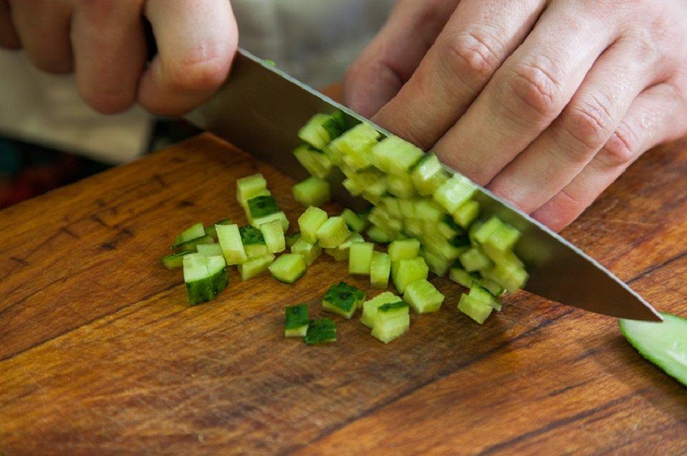 Салат з яловичим язиком