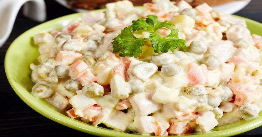 Російський салат по-італійськи подивитися рецепт