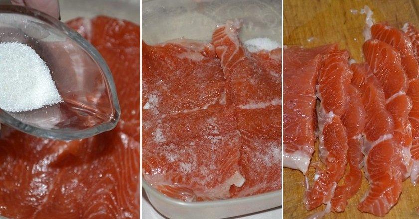 Червона риба в горілці як приготувати, покрокові рецепти від «Це Смак»