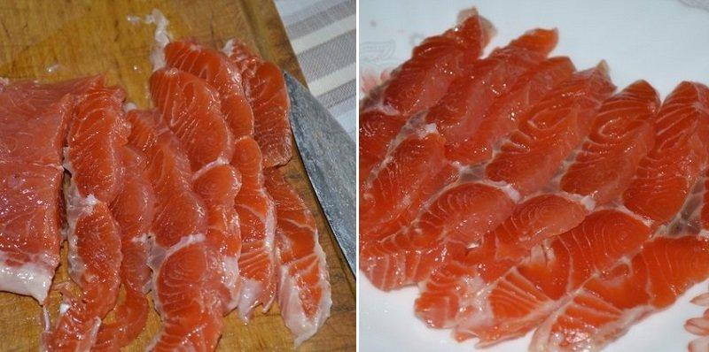 Червона риба в горілці