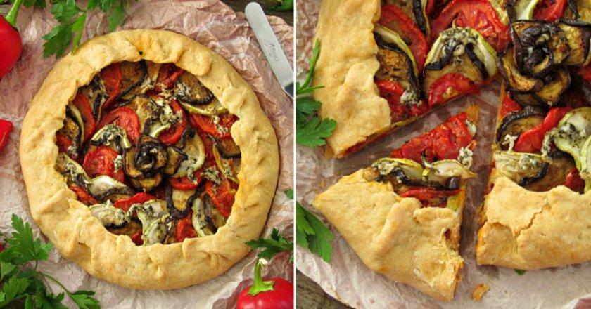 Галета з овочами подивитися рецепт