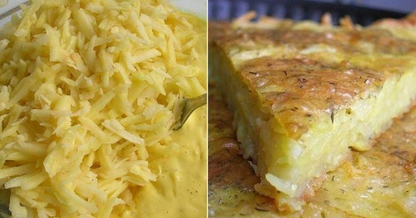 Картопляна запіканка без м'яса подивитися рецепт