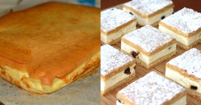 Пиріг з сиром в духовці подивитися рецепт