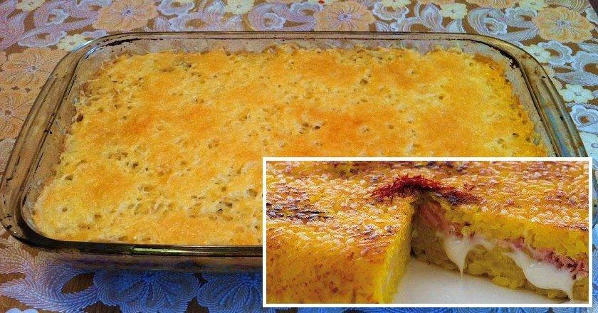 Пиріг з рису як приготувати, покрокові рецепти від «Це Смак»