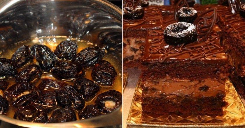 Торт «П'яна злива» подивитися рецепт