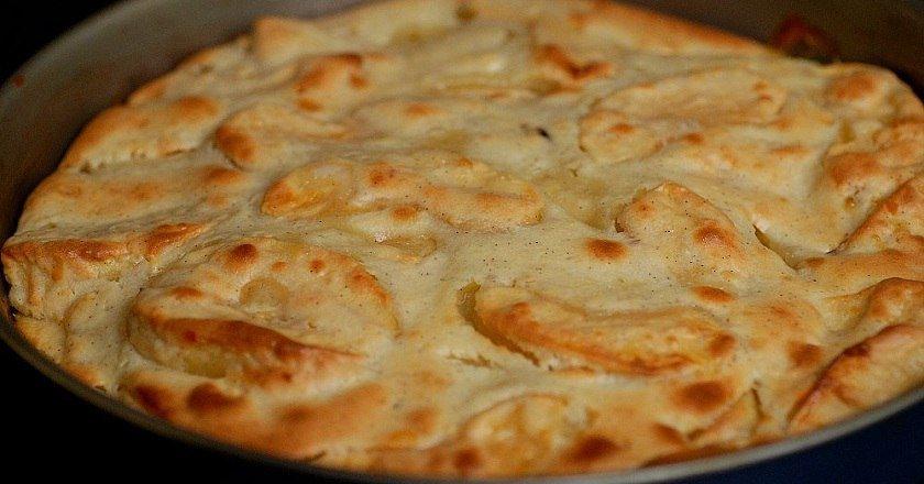 Скандинавський яблучний пиріг подивитися рецепт