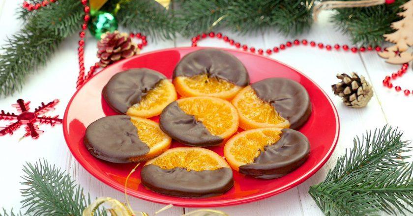 Як приготувати апельсини в шоколаді подивитися рецепт
