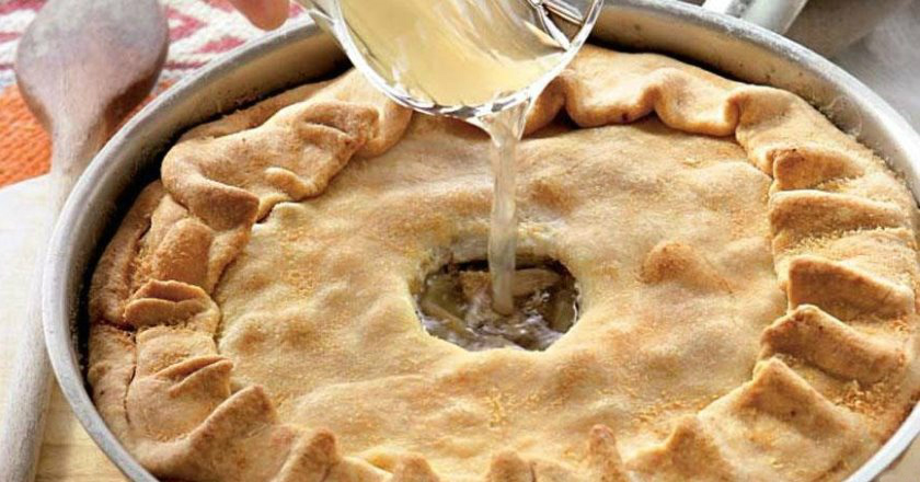 Пиріг з картоплею подивитися рецепт