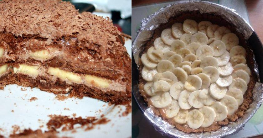 Простий торт без випічки подивитися рецепт