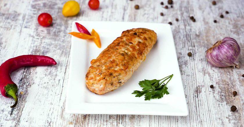 Як приготувати курячі ковбаски подивитися рецепт