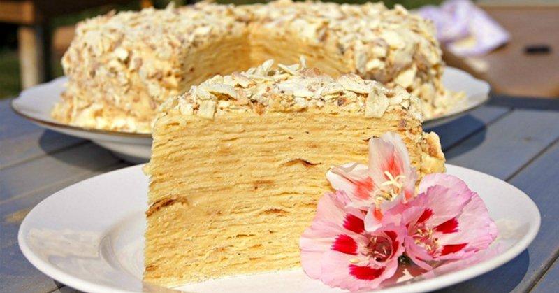 Торт «Наполеон» з лаваша