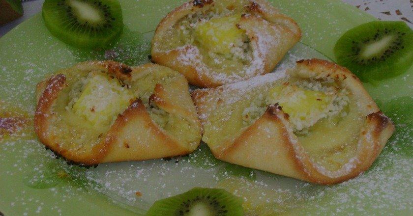 Печиво з ківі подивитися рецепт
