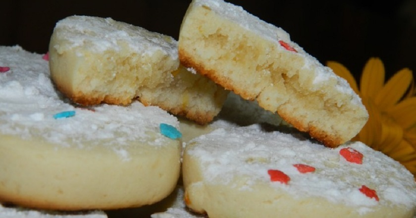 Лимонне печиво подивитися рецепт