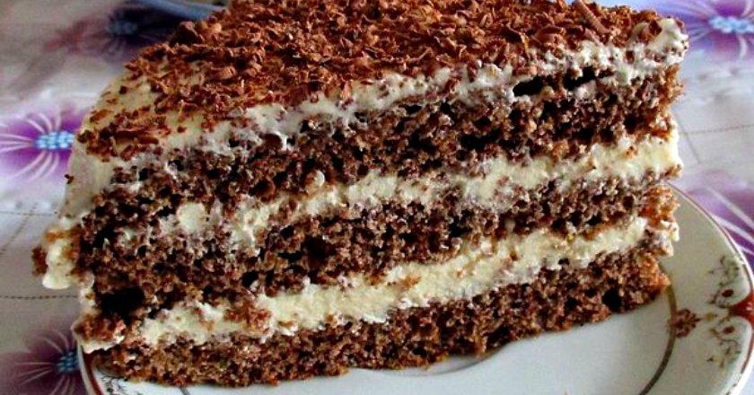 Торт «Поль Робсон» подивитися рецепт