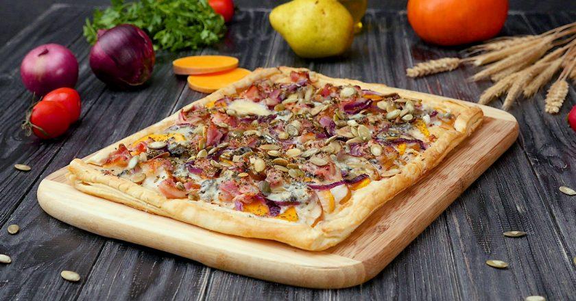 Як приготувати піцу з гарбузом подивитися рецепт