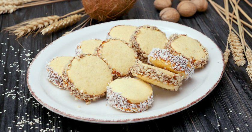 Як приготувати печиво «Альфахорес» подивитися рецепт