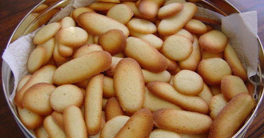 Печиво «Котячі язички» подивитися рецепт