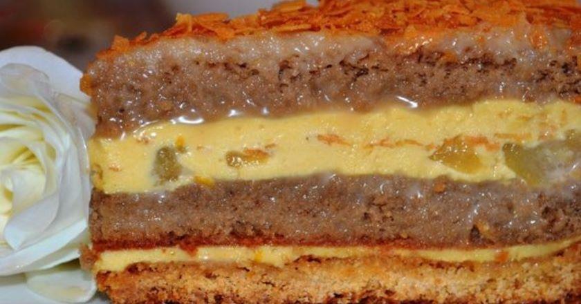Карамельний торт подивитися рецепт