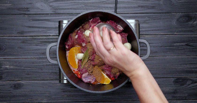 Як приготувати тушковану телятину подивитися рецепт