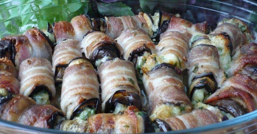 Рулети з баклажанів з сиром як приготувати, покрокові рецепти від «Це Смак»