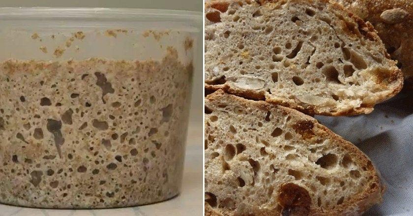 Житня закваска для хліба подивитися рецепт